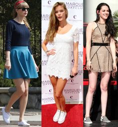 The Dos and Don'ts of Wearing Sneakers with Dresses - theFashionSpot