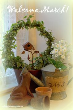Welcome, March! Spring is just around the corner now!   https://www.facebook.com/OurFairfieldHomeAndGarden