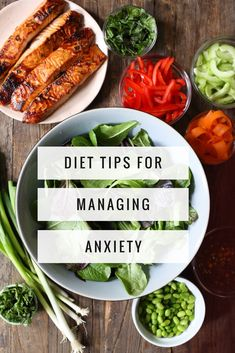 Foods For Anxiety, Anxiety Tips, Anxiety Help, Anxiety Facts, Diet Recipes, Healthy Recipes, Healthy Meals, Clean Eating, Diet