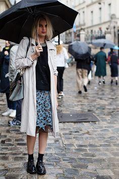 On the Street…..Rue Bonaparte, Paris #streetstyle #thesartorialist