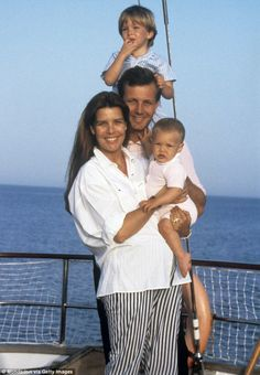Charlotte was just four-years-old when her father Stefano Casiraghi was killed in a boatin...