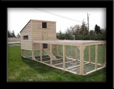Chicken Coops: dad's plan