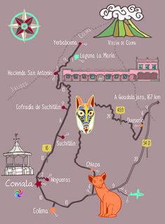 Comala En este Pueblo Mágico que se encuentra cerca del volcán de Colima se puede disfrutar de una rica gastronomía, tomar fotografías de sus bellas calles y vivir el silencio como en ningún otro lugar.