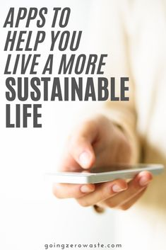 Did you know there are several apps that can help us live a sustainable life? From helping you reduce food waste to getting rid of junk mail, there's an app for almost everything you can think of. So, I've rounded up 8 apps that will help make sustainable living a little bit easier. #sustainablelivingapps #ecofriendlyapps Green Living Tips, Green Tips, Reduce Reuse, Reduce Waste, No Waste, Junk Mail, Help The Environment, Rainwater Harvesting