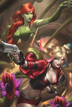 Poison Ivy 3, Poison Ivy Comic, Poison Ivy Dc Comics, Poison Ivy Batman, Marvel Dc Comics, Online Comic Books, Gotham Girls, Artist Alley, Batman Art