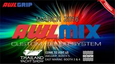 #Exclusive in #Thailand #AwlMix Custom Color System by #Awlgrip in March 2016 #Emagination #ThailandYachtShow  #Awlcraft2000 #AwlcraftSE #EastMarine  www.eastmarineasia.com