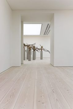 Wooden floors at Saatchi Gallery - reflections on art - Dinesen Plank Flooring, Wooden Flooring, Best Engineered Wood Flooring, White Washed Floors, Farmhouse Flooring, Saatchi Gallery, Modern Interior Design, Home And Living, Decoration