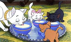The Aristocats is a movie made in 1970 from Walt Disney productions. It is a classic Disney film that has been awarded many times. Disney Magic, Disney Pixar, Disney Films, Disney Animation, Walt Disney, Disney Amor, Disney Cats, Disney And Dreamworks, Disney Love
