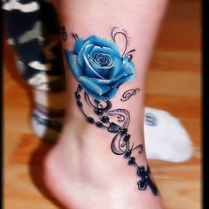 Tattoos.com   Colorful Rose Tattoo Inspiration   Page 2