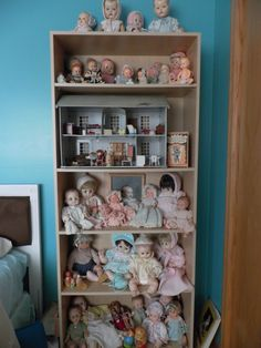 My doll collection  A few from chilhood