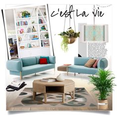 Color Me Happy by clotheshawg on Polyvore featuring polyvore, interior, interiors, interior design, home, home decor, interior decorating and Sunpan