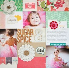 Sugar and Spice Layout