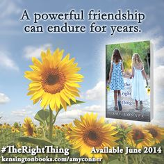 Amy Conner's THE RIGHT THING: http://www.kensingtonbooks.com/AmyConner #TheRightThing