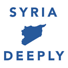 """Syria Deeply (website) """"is an independent digital media project led by journalists and technologists that explores a new model of storytelling around a global crisis."""" It offers news, commentary, videos, infographics & more to help add context & depth."""