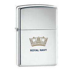 Engraved Royal Navy Zippo Lighter