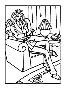 Prince And Princess Sleeping Beauty Coloring Pages Coloring