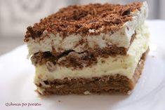 Qchnia po prostu: 3 Bit - ciasto bez pieczenia Tiramisu, Ethnic Recipes, Cos, Pies, Tiramisu Cake