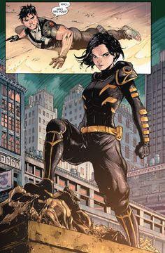 Cassandra Cain in Batman and Robin Eternal #3