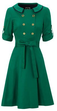 Green Hobbs dress