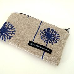 Dandelion coin purse.