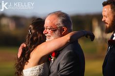 Father of the Bride nice moment with daughter on Columbia MO Wedding Day