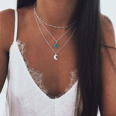 Cute Jewelry, Jewelry Art, Jewelry Accessories, Fashion Accessories, Cute Necklace, Star Necklace, Girls Necklaces, Jewelry Necklaces, Vampire Diaries Jewelry