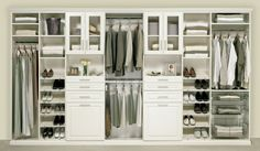 Furniture Gorgeous Walk In Closet Ideas With White Polished Wardrobe Closet Feat Open Shoes Shelves As Well As Open Clothing Rails Design As Decorate Minimalist Man Room Furnishing Decors Marvelous Wa