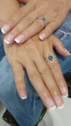 Clasic nail polish . french.