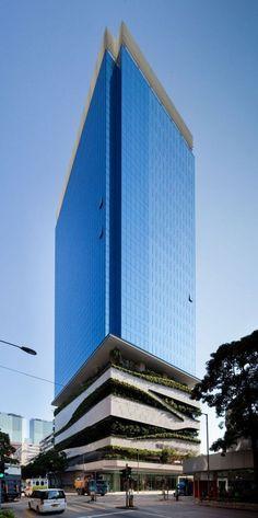 Buenos días! Volvemos a la rutina en estos últimos días del 2013. Los que estéis de vacaciones, DISFRUTADLAS! Paisajismo y arquitectura se dan la mano en el 18 Kowloon East por Aedas (Kowloon Bay, Hong Kong, China)