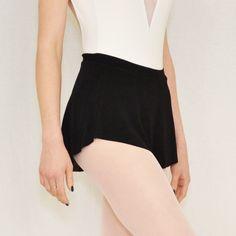 """Bullet Pointe """"Balanchine"""" Skirt in Black."""