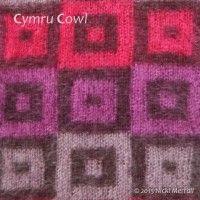 Cymru Cowl  #knit #doubleknit #BeingKnitterlypattern #cowl