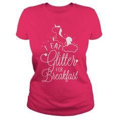 I eat glitter for breakfast!