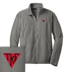 Campus Classics - On Sale! Teke Gray Microfleece Jacket: $33.95