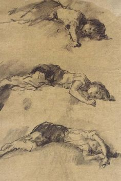 Three Studies for Sleeping Young Woman Nicolae Grigorescu Wholesale Oil Painting China Picture Frame 30741 Ink Pen Drawings, Young Women, Picture Frames, Vintage World Maps, Sleep, Fine Art, 18th Century, Roman, Pictures
