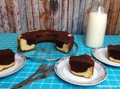Du hast keine Eier im Haus und möchtest einen Kuchen im OMNIA-Backofen backen? Dann ist dieser Marmorkuchen ohne Ei genau das Richtige für dich! Nicht nur für Veganer geeignet!