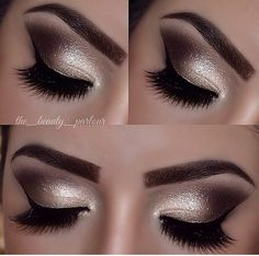 Sparkly eyeshadow