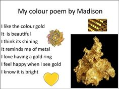 Bonding through Blogging: Poetry month #1: Colour poems (Gr 1) Color Poem, National Poetry Month, American Poets, Feeling Happy, Blogging, Poems, Colour, Color, Poetry