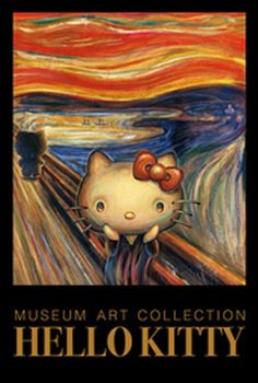 Scream-O Kitty (via artartart.jp)