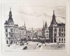Vintage print in handmade paper, the city of Cluj Travel Souvenirs, Paper Dimensions, Retro Art, Coat Of Arms, Vintage Prints, Etsy Vintage, Paris Skyline, Transylvania Romania, Retail Therapy