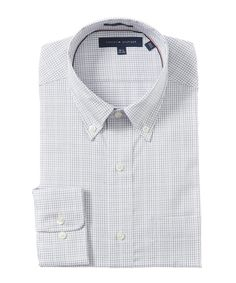 TOMMY HILFIGER TOMMY HILFIGER CLASSIC FIT DRESS SHIRT'. #tommyhilfiger #cloth #dress shirts