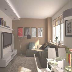 Elegant Kleines Wohnzimmer Aufteilung