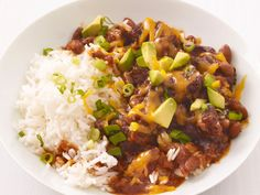 Slow-Cooker Chili from FoodNetwork.com making this tonight and it is so easy and delicious!