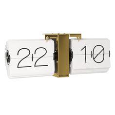£100.00 Available Now Karlsson Flip Clock Minimal - Brass  http://www.redcandy.co.uk/karlsson-flip-clock-minimal-brass