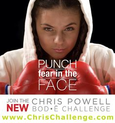 Punch fear in the face!  www.yhoffman.vemma.com
