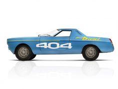 Peugeot 404 diesel record car 1965