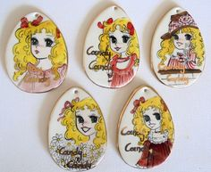Candy Candy! handmade ceramic eggs