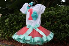 Hey, I found this really awesome Etsy listing at https://www.etsy.com/listing/190506585/baby-girl-1st-birthday-outfit-onesie-or