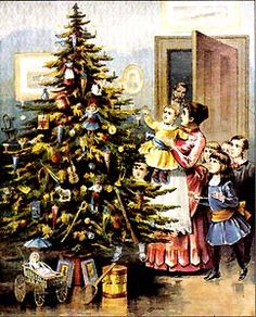 Victorian Christmas Parlor Games