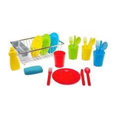 "Melissa & Doug Wash & Dry Dish Set - Melissa & Doug - Toys ""R"" Us"