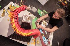 Paper Dragon 05